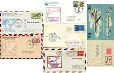 Pan American Am Airlines First Flight Mail Route Anniversary Cover Collection