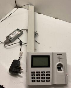 BioStore FingerPrint Scanner Time Keeping Clock * PartCode 20012p (BIO1P00051) *