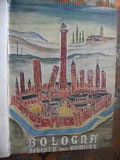 BOLOGNA RIVISTA DEL COMUNE 1937-1950 - 6 NUMERI SPARSI CON COPERTINE ORIGINALI
