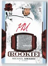 2017-18 The Cup Rookie Patch Autograph Red TAG #138 Michael Amadio 7/8