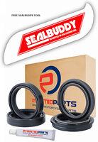 Fork Oil Seals Dust Seals & Tool for Honda FJS 600 Silver Wing 01-14