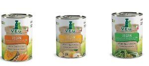 Alimento umido per cani vegan alimento vegano in scatolette da 400 gr