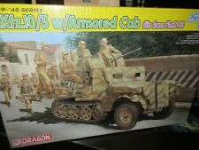 DRAGON # 6677 1/35th SCALE Sd.Kfz.10/5 HALF TRACK W/ARMOR CAB MODEL SMART KIT
