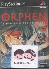Jeu Sony PS2 / Playstation 2 - ORPHEN L'Héritier des sorciers - 12+