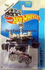 D1-4 Hot Wheels 2014 71/250 City Planet Heroes Mars Rover Curiosity Paint ERROR