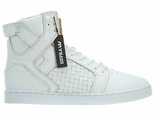 Supra Skytop LX Mens S67002-WHT White Leather Casual Shoes Sneakers Size 10