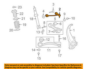 JAGUAR OEM 13-15 XF Left Front Upper Control Arm C2Z29117