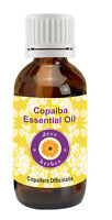 Pure Copaiba Essential Oil Copaifera officinalis 100% Natural by deve herbes