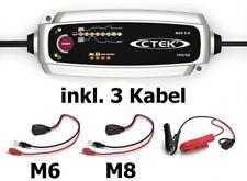CTEK Set Ladegerät MXS 5.0 +zusätzliches Schnellkontaktkabel M8 56261