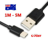 5M 3M USB Type-C Adapter Cable Data Charger Cord For Sony Xperia XZ Premium XA1