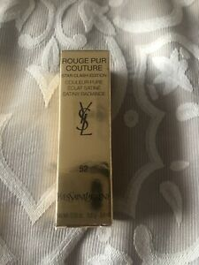 YSL Rouge Pur Couture Star Clash Edition 52 Rouge Rose