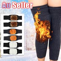 Knee Warmer Leg Sleeve Sleeves Warm Wool M2 Thermal Winter Kneecap