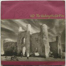 U2 Unforgettable Fire 1984 UK ORG LP AUTOGRAPHED by Bono Edge Adam & Larry VG