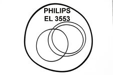 SET BELTS PHILIPS EL3553  REEL TO REEL EXTRA STRONG NEW FACTORY FRESH EL 3553