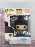 Funko POP Movies Despicable Me: Agnes Vinyl Figure #34 BOX WEAR E04