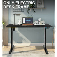 Electric Desk Frame Height Adjustable Standing Single Motor Memory Touch Control