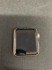 Apple Watch Series 3 38mm GPS Gold Aluminum Case **For Parts** AS-IS