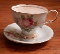 Vintage Paragon Fine Bone China Cup Saucer by Appointment to Queen Mary England