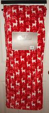 Berkshire Opulence Throw Blanket Christmas Reindeer Premium Loft Plush Fleece