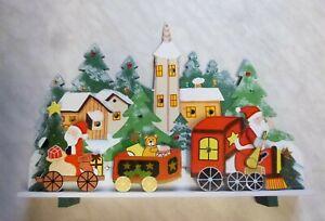 3D-Stimmungsleuchter aus Holz**Weihnachten**beleuchtet**Fensterdeko
