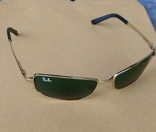 Sunglasses Ray Ban 3194 Gold with Green Lenses Used