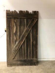Barn wood Barn Door 200 year old White Oak Barn Door