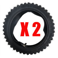 "2Set 2.5-10 10"" TYRE TIRE For Honda XR50 CRF50 CRF70 CRF110 CRF125 Dirt Pit BIKE"