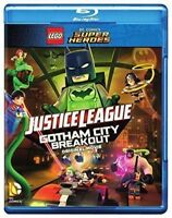 Lego Dc Gotham City Breakout Blu-Ray (1000621280)