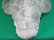 BIG HUGE HANDMADE AURORA GRAY BOTTLENOSE DOLPHIN PLUSH STUFFED ANIMAL TOY