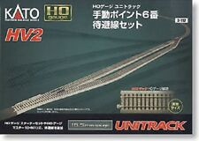 Kato HO Scale Unitrack HV2 Outer Track Oval Variation Set -3-112