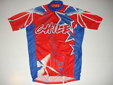 New size Small / S - CHILE Team Chilean Country Flag Cycling Road Bike Jersey