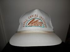 trucker hat baseball cap SMALL GRAINS INSTITUTE agriculture wheat retro snapback