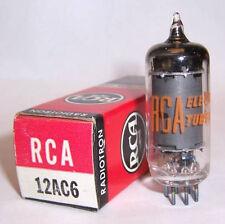 NEW IN BOX RCA 12AC6 AUTO / CAR RADIO RF / IF AMP TUBE / VALVE