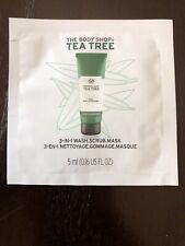 The Body Shop Tea Tree 3-In-1 Mask Sample .16oz