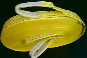 NEW HEAVY DUTY 4x4 RECOVERY TOW ROPE TOW STRAP WINCH STROP 30M OFF ROAD 5 TON
