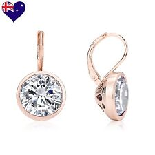 Bella Rose Gold Cubic Zirconia Drop/Dangle Earrings Wedding-Gift-Jewellery
