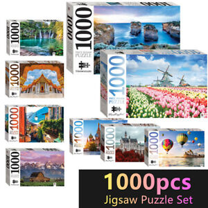 Hinkler Jigsaw Puzzles 1000 Pieces Set Adult Kids Toys Activity Games Home Decor