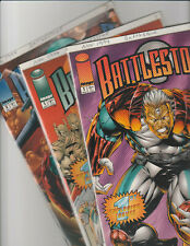 Battlestone 1, 1, 2 (Three Books different covers for 1) Image Comic Book 1994