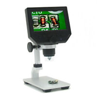 "New 1080P Digital Microscope 4.3"" HD OLED 3.6MP 600X Magnifier G600 Portable LCD"
