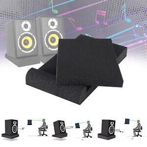 Audio Studio Monitor Isolation Schwamm Pads Stabilisator für Lautsprecher Steht