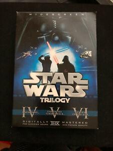 Star Wars Trilogy (DVD, 2008, 6-Disc Set) Limited Edition Widescreen Near Mint