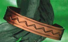"Dekorativer Kupferarmreif ""Indio"", Armreif, Kupfer, ca. 16 mm breit, offen"