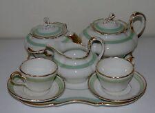Tête à tête / service à thé en porcelaine de Paris. XIXe s.