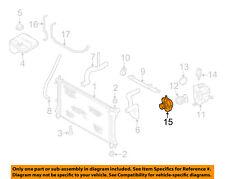 FORD OEM 00-03 Focus 2.0L-L4 Radiator-Connector XS4Z8592AC