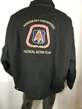 Pella Outdoor Clothing Work Coat Northeast Carpenters Political Action Team 3XL