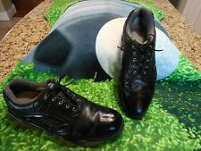 Footjoy SYNR-G Golf shoes Mens SZ 12 M U.S.A. Excellent condition Vented Black