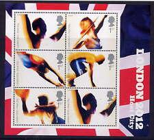 GB 2005 Londra è riuscita offerta per giochi olimpici 2012 miniature Foglio Gomma integra, non linguellato