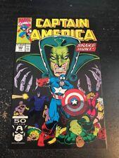 Captain America#382 Incredible Condition 9.0(1991) Serpent Society,Ron Lim Art