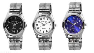 Herren Armbanduhr Elegante Herrenuhr Analog Quarz Watch Metallzugband Excellanc