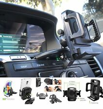 Car CD Player Slot Mount Cell Holder Stand For Samsung Galaxy Note 8 / 7 / 5 / 4